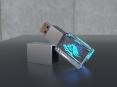 3D Crystal USB flash drive - thumbnail - 1