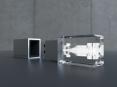 3D Crystal USB flash drive - 12
